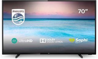 "Televisor Philips 70PUS6504/12 70"" LED 4K UHD Smart TV"