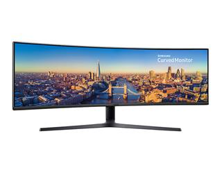 "Televisor SAMSUNG C49J890DKU CURVED 49"" LED ..."
