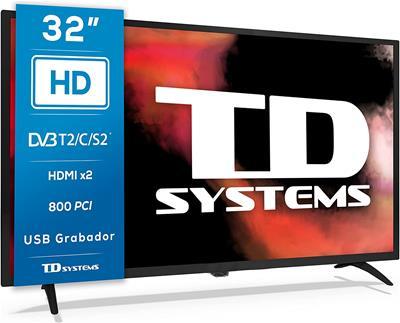 """Televisor TD Systems K32DLK12H 32"""" HD Modo hotel ..."""