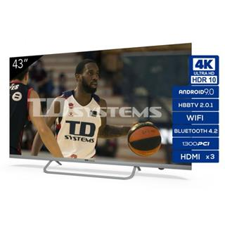 "Televisor TD Systems K43DLX11US 43"" LED UHD 4K ..."