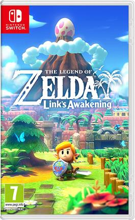 JUEGO NINTENDO SWITCH THE LEGEND OF ZELDA LINK´S AWAKENING