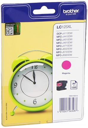 Tinta brother  lc125xlmbp magenta