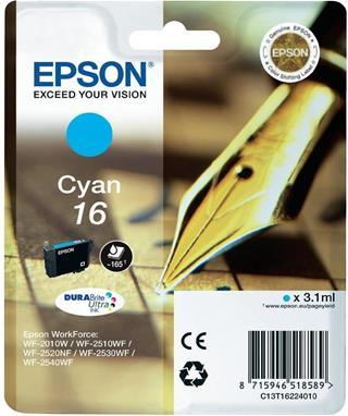 CARTUCHO TINTA EPSON 16 CYAN
