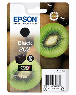Tinta epson 202 black 69ml