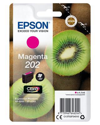 TINTA EPSON 202 MAGENTA 4.1ML