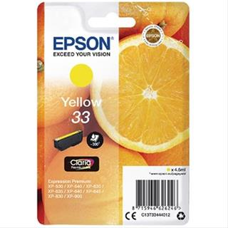 Tinta epson 33 yellow