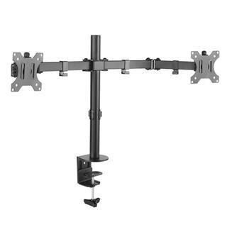 "Soporte mesa tooq db1232tn-b 2 pantallas 13-32"" max 8kg por brazo negro"