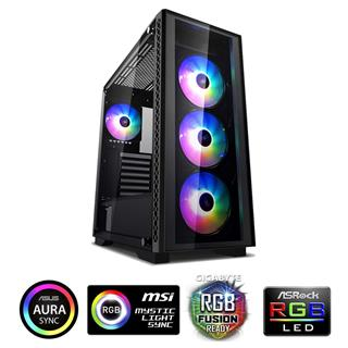 Torre E-ATX DEEPCOOL MATREXX 50 ADD-RGB 4F Negro