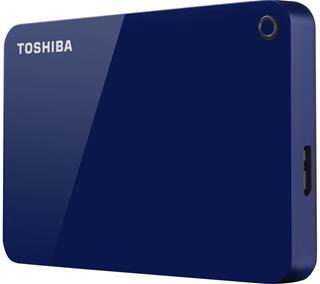 TOSHIBA CANVIO ADVANCE 2TB BLUE 2.5IN  USB 3.0 NTFS DRIVER X MAC