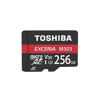 Toshiba EXCERIA Micro SDXC clase 10 con adaptador U3 v30 256 gb
