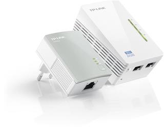 ADAPTADOR POWERLINE TP-LINK WIFI 300MB 2PUERT