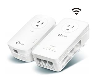 TP-LINK KIT EXTENSOR WIFI AC POWERLINE AV1300 CON ...
