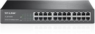 SWITCH 24 PUERTOS 10/100 TP-LINK RACK