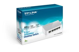 SWITCH TP-LINK TL-SF1005D 5 PORT 10/100