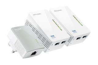 TP-LINK TL-WPA4220T KIT AV500 Powerline Universal WiFi Range Ext