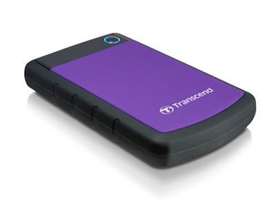 Transcend StoreJet 25H3 2.5  2TB USB 3.1 Gen 1