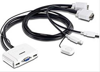 TRENDNET 2-PORT USB KVM SWITCH           IN