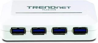 TRENDNET 4-PORT USB3.0 HUB              IN