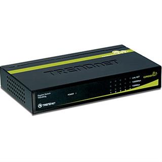 TRENDNET 5X10/100/1000MBPS GREENNET      GIGABIT SWITCH (METAL)