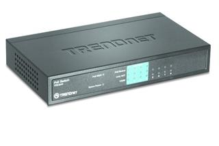 TRENDNET 8 PORT 4X10/100 4 POE           POE SWITCH
