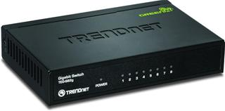 TRENDNET 8-PORT GIGABIT GREENNET SWITCH  WITH METAL CASE