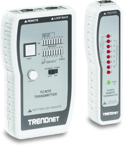 TRENDNET NETWORK CABLE TESTER            (TP + COA