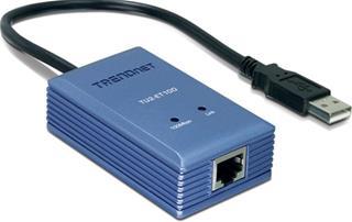 TRENDNET USB 2.0 TO 10/100 MBPS          ETHERNET ...