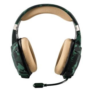 TRUST COMPUTER AURICULARES GAMING MICROFONO    GXT 322C VERDE CA