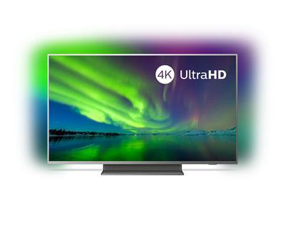 TV PHILIPS 55PUS7504 55' UHD 4K SMART WIFI PLATA HDMI USB ANDROID P5 AMBILIGHT Y