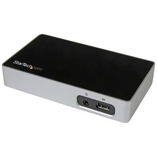STARTECH UNIVERSAL USB 3.0 LAPTOP DOCK   FOR HOT DESKS DVI VIDEO