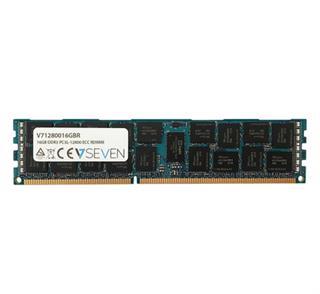 v7 16Gb Ddr3 1600Mhz Cl11 Server Ecc Reg Pc3-12800 1.3