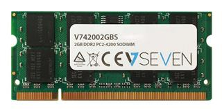 V7 2GB DDR2 533MHZ CL5            SO DIMM PC2-42