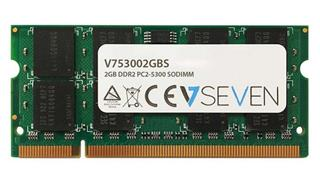 V7 2GB DDR2 667MHZ CL5            SO DIMM PC2-53