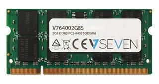 V7 2GB DDR2 800MHZ CL6            SO DIMM PC2-64