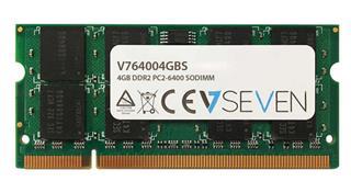 V7 4GB DDR2 800MHZ CL6            SO DIMM PC2-64