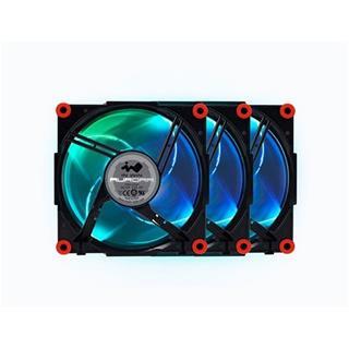VENTILADOR 120X120 IN WIN AURORA RGB PACK 3UDS