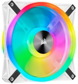 Corsair iCUE QL140 RGB PWM Single Pack blanco ...