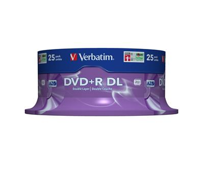 Verbatim DVD R DOUBLE LAYER 8.5GB 8X MATT
