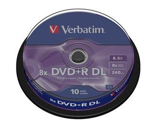 VERBATIM DVD+R DOUBLE LAYER 8X 8.5GB