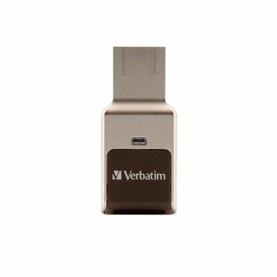 Verbatim Secure Drive      128GB Fingerprint USB ...