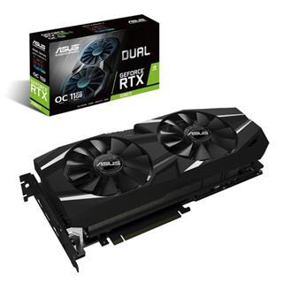 Tarjeta Gráfica Asus Dual GeForce RTX 2080Ti 11GB OC GDDR6