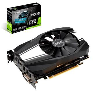 Tarjeta Gráfica Asus Phoenix GeForce RTX 2060 6GB GDDR6
