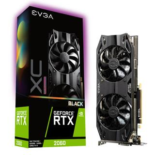 Tarjeta Gráfica EVGA RTX 2060 XC ULTRA BLACK 6GB  GDDR6