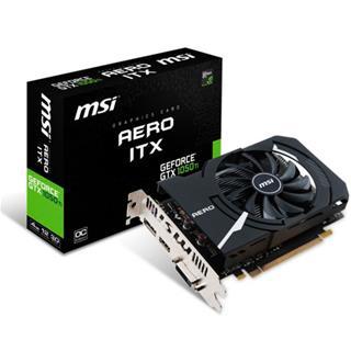 Tarjeta gráfica MSI GTX1050 TI Aero ITX 4GB OC ...