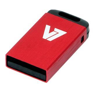 AXPRO V7 USB NANO STICK 32GB RED     USB2.0 23X12X4MM RETAIL