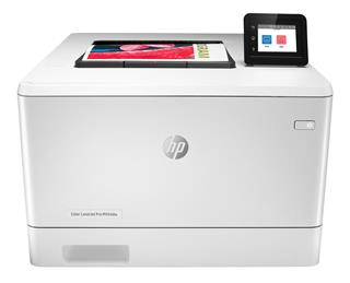 Impresora láser color HPColor LaserJet Pro M454DW USB Ethernet W