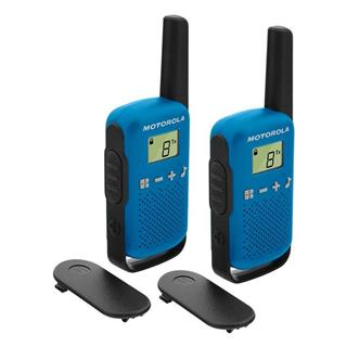 Walkie Talkies Motorola TLKR T42 pack 2 azules
