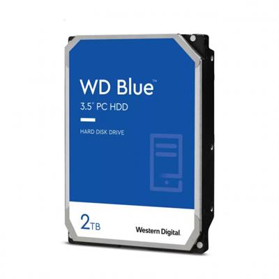 WD 2TB BLUE 256MB 3.5IN SATA 6GB/ 5400R