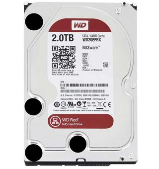 "HD 3.5"" WESTERN DIGITAL 2TB RED SATA3 256MB"