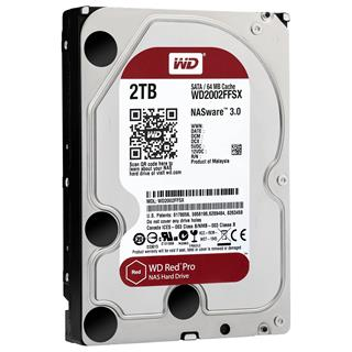 Wd HDD Red Pro 2TB 3.5 SATA 6GB/s 64MB